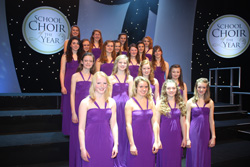 Cantabile Girls Choir in BBC Songs of Praise Choir of the Year Competition