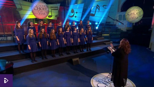 Songs of Praise 2015 - Hereford Cantabile girls